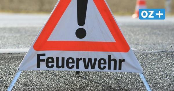 Sturm in Vorpommern-Rügen: Baum kracht auf Wohnmobil – Wahlplakat blockiert Straße