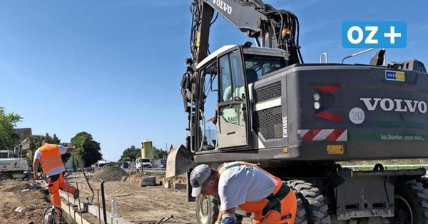 Greifswalder Baustelle am Hansering geht voran: Weniger Einschränkungen ab Mittwoch