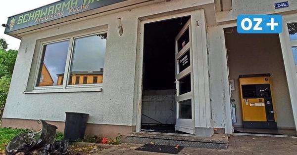 Schawarma Haus in Stralsund ausgebrannt: Imbiss-Betreiber hat einen Verdacht