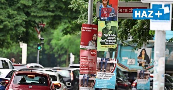 Die Frist ist abgelaufen: Hannovers Parteien müssen Wahlplakate bis heute entfernt haben