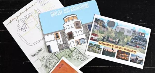 Die neuen Postkarten aus Rangsdorf. Foto: Gemeinde Rangsdorf