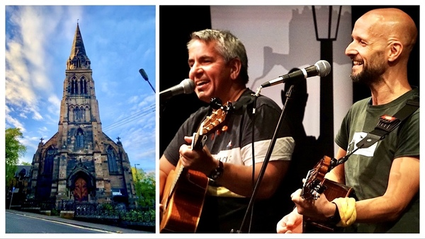 Douglas and Martin play Cottiers on Friday