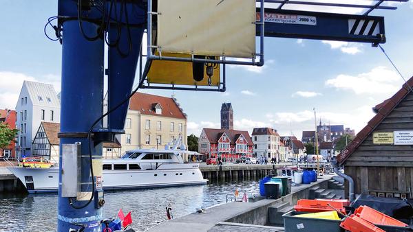 Der Hafen in Wismar. (Foto: Helmut Kuzina)
