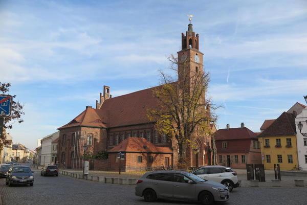Altstädtischer Markt in Brandenburg (Foto: Hesse)