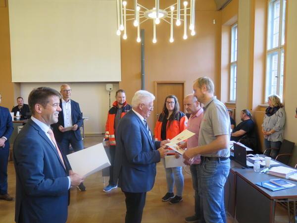 Anerkennung in der Stadtverordnetenversammlung (Foto: Wirsing)