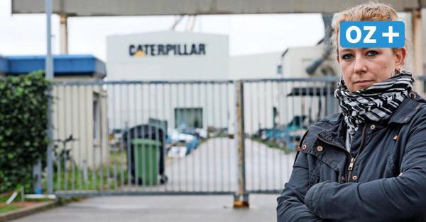 """Motorenbauerin von Caterpillar in Rostock: """"Diese Kaltschnäuzigkeit hat uns erschüttert"""""""