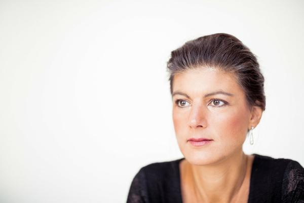 """Sahra Wagenknecht: """"Jeder sollte einen Anreiz haben, sich anzustrengen"""""""