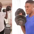 John Mahama works out with his son Sharaf Mahama in viral video