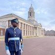 This Ghanaian airforce soldier outclassed all, emerged the best at UK Royal Airforce College