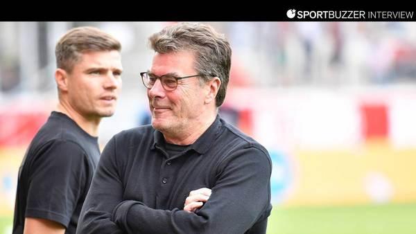 """Nürnbergs Vorstand Dieter Hecking über Ex-Klub 96: """"Muss ihnen Zeit geben"""""""