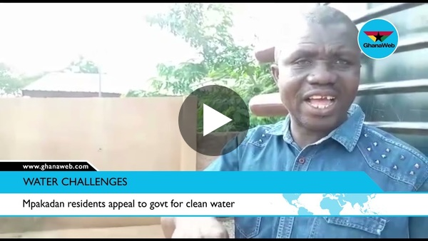 Mpakadan residents appeal to govt for clean water