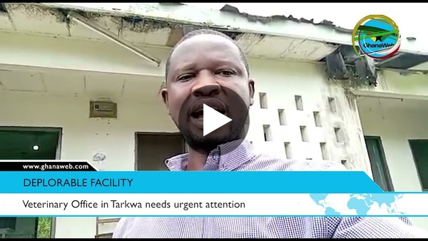 Veterinary Office in Tarkwa needs urgent attention