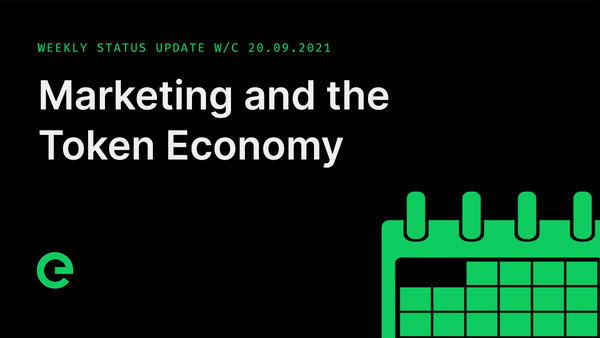 Weekly Update: W/C 20th September, 2021