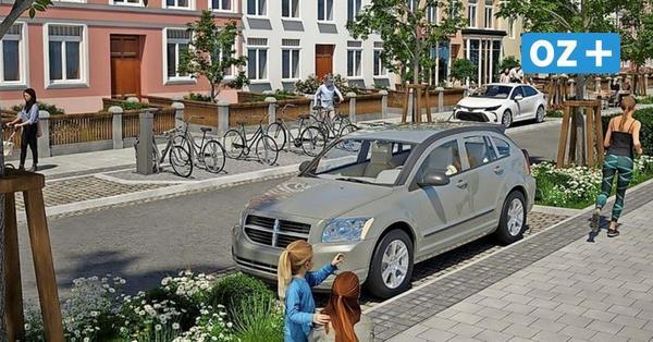 100 Parkplätze weg? So soll die Fritz-Reuter-Straße in Rostock bald aussehen