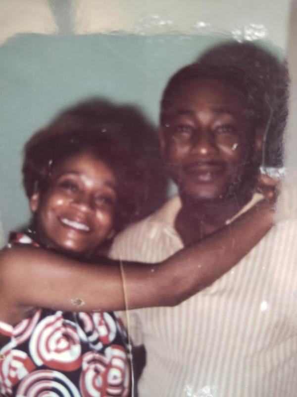 Grandma and Papa (who died months before I was born)