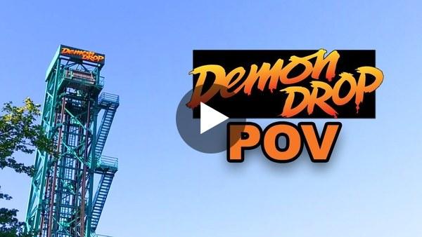 Demon Drop On Ride POV, at Dorney Park, Originally at Cedar Point!