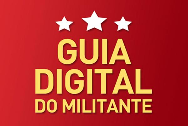 Ilustração: PT lança guia da militância digital.
