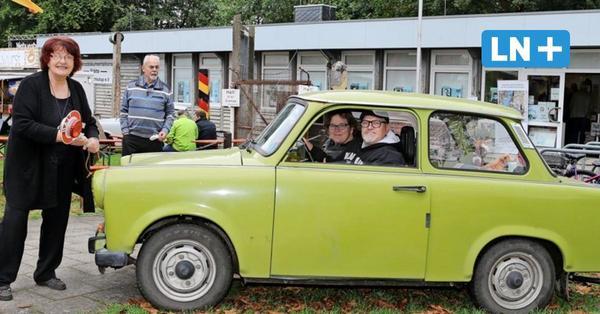 Feier in der Lübecker Grenzdokumentationsstätte