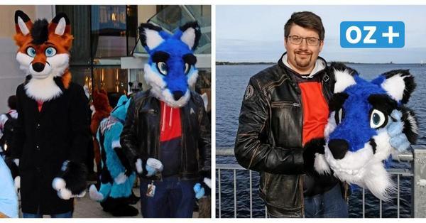 Furry-Szene in Wismar: Wieso sich junge Leute als Kuscheltiere verkleiden