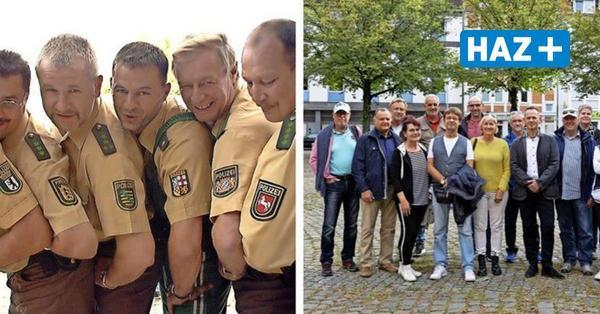 Expo 2000 in Hannover: Polizisten feiern Wiedersehen nach 21 Jahren