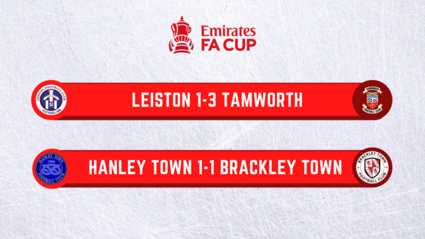 @tamworthfc secure a place in the Fourth Qualifying Round of the FA Cup while @hanleytown66 earn a replay in front of the BBC cameras