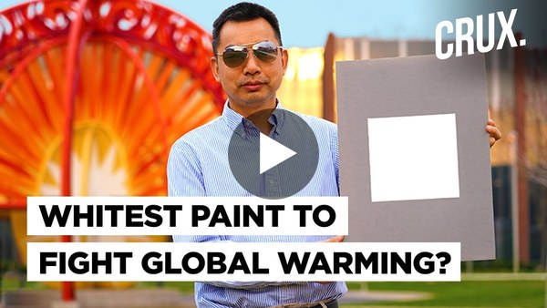 White Paint That Could Replace Air Conditioning | Game Changer For Climate Change?