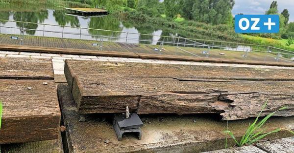 Wismar: Seebühne im Bürgerpark droht der Abriss