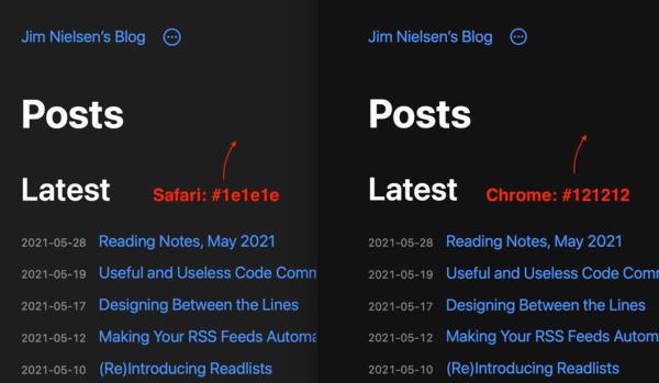 Системные цвета в CSS