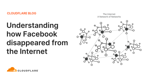 Understanding How Facebook Disappeared from the Internet