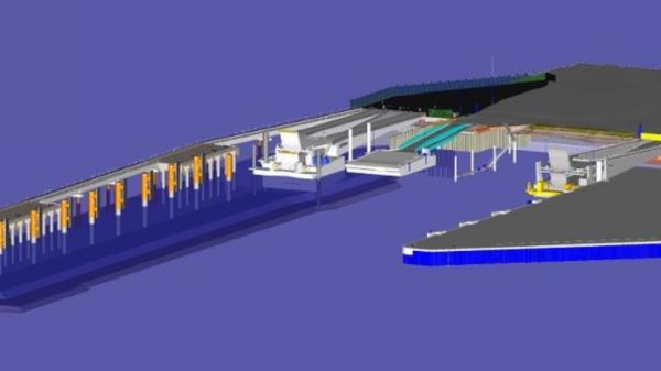 Un nouveau poste transmanche pour le port de Dunkerque - Een nieuwe aanlegplaats voor de oversteek van het Kanaal in de haven van Duinkerken
