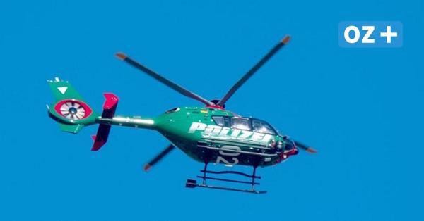 Polizeieinsatz: Darum sind Hubschrauber über Rostock-Toitenwinkel gekreist