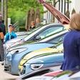 E-Auto-Treffen in Wolfsburg: In der Autostadt drehte sich alles um Elektromobilität