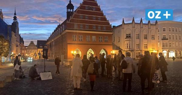 Montagsdemos auf dem Greifswalder Markt: Das sind die Forderungen der Coronakritiker