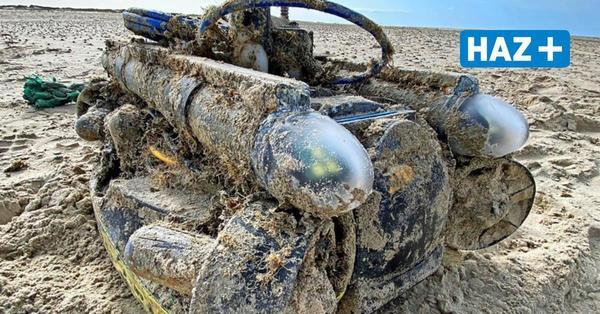 Tauchroboter auf Norderney angespült - Besitzer in Belgien gefunden