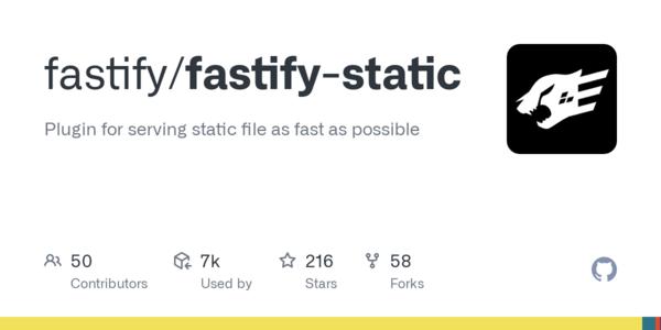 Release v4.2.4 · fastify/fastify-static · GitHub