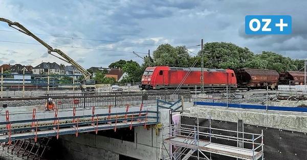 Wismar: Bahn baut weiteren Tunnel unter Gleisen