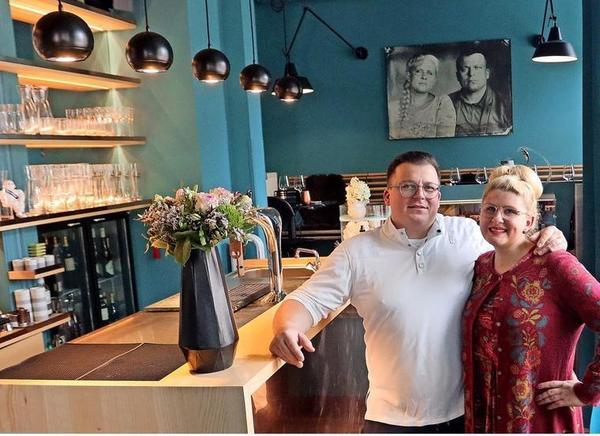 """Klein, aber fein ist das Sternerestaurant """"Frieda"""" von Lisa Angermann und Andreas Reinke in Leipzig. Foto: Kempner"""