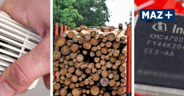 Gas, Holz, Mikrochips: Machen sich gestiegene Preise und Lieferengpässe in Teltow-Fläming bemerkbar?