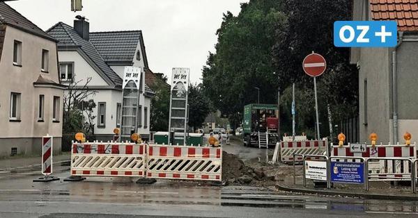 Grimmen: Ampelanlage in der Friedrichstraße wegen Bauarbeiten weiter aus