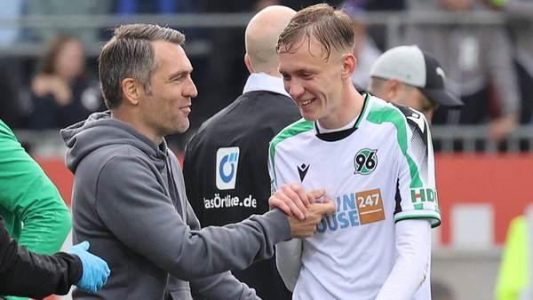 96 bittet den DFB: Beier soll bei U20-Nationalmannschaft geschont werden