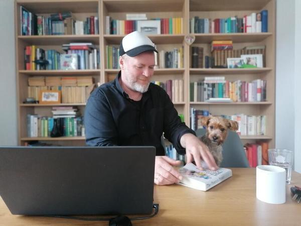 Stephan und Günther Boden bei der Arbeit.