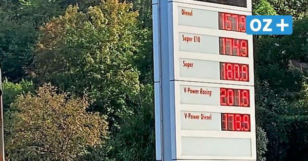 1,81 Euro für den Liter Benzin auf Rügen: Spritpreise sorgen für Ärger