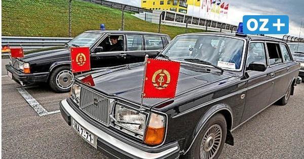 Sassnitz: Ehemalige DDR-Staatskarossen statten Rügen einen Besuch ab