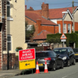 Traffic congestion as roadworks get underway in West Kirby