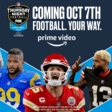 Amazon Prime Video Announces Upcoming NFL Thursday Night Football Programming Beginning This Week | Cord Cutters News