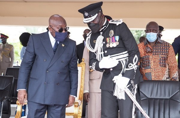 Don't tie the police service to the ruling party – Akufo-Addo to Dampare
