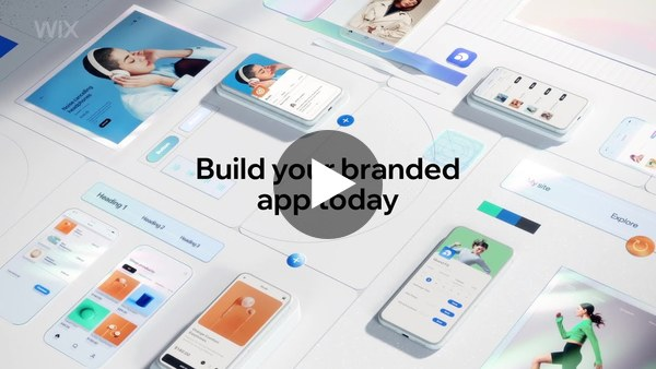 Create a fully branded native mobile app. No code needed. | Wix.com