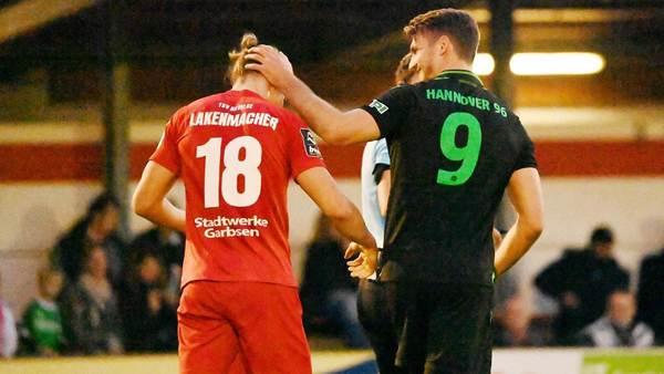 Duell unter Freunden: Hannover 96 zittert sich beim TSV Havelse zu einem 1:0
