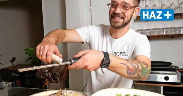 """So schmeckt es im vegetarischen Restaurant """"Rüpel"""" in Linden"""