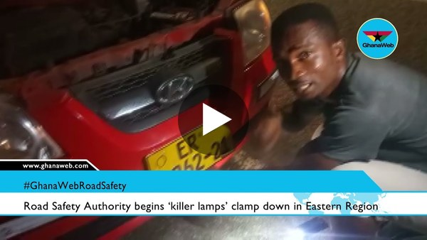 Road Safety Authority begins 'killer lamps' clamp down in Eastern Region